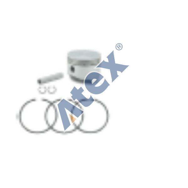 224-22443  Piston and ring set (Ø80 mm Std.)