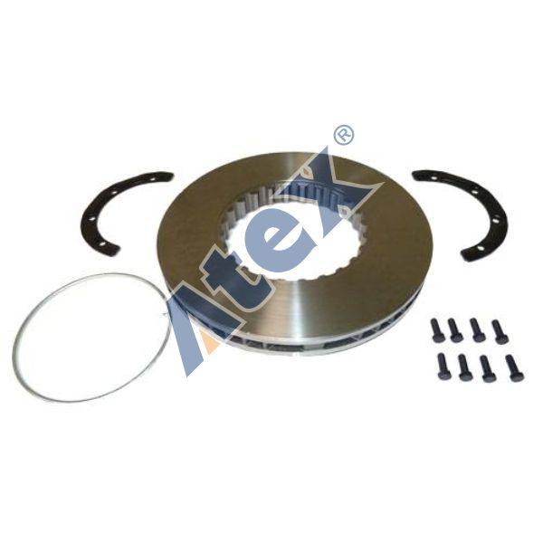460-002760 85103803 Brake Disc Kit (With Mounting Kit) Front & Rear
