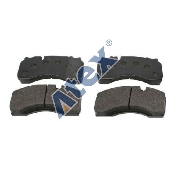 460-025123 5001855902 Brake Pad Kit, Front (WİTHOUT SENSOR)
