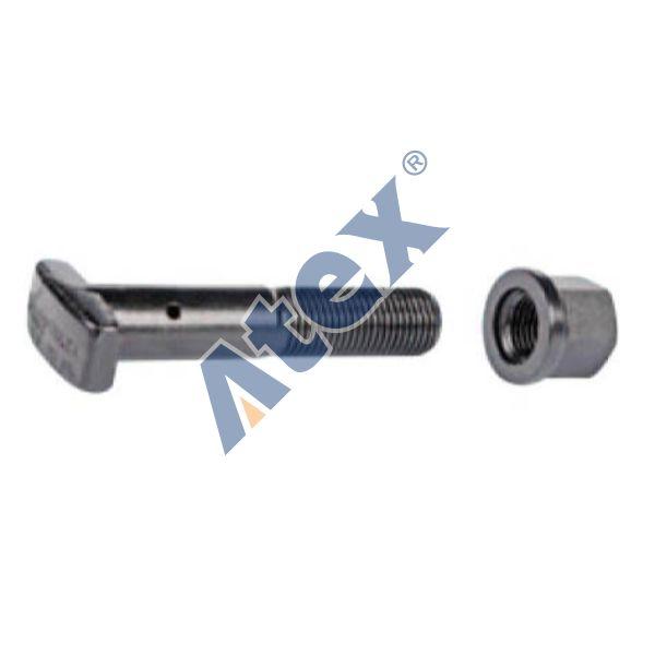 460-060124 1581687 Wheel Stud, Rear Axle